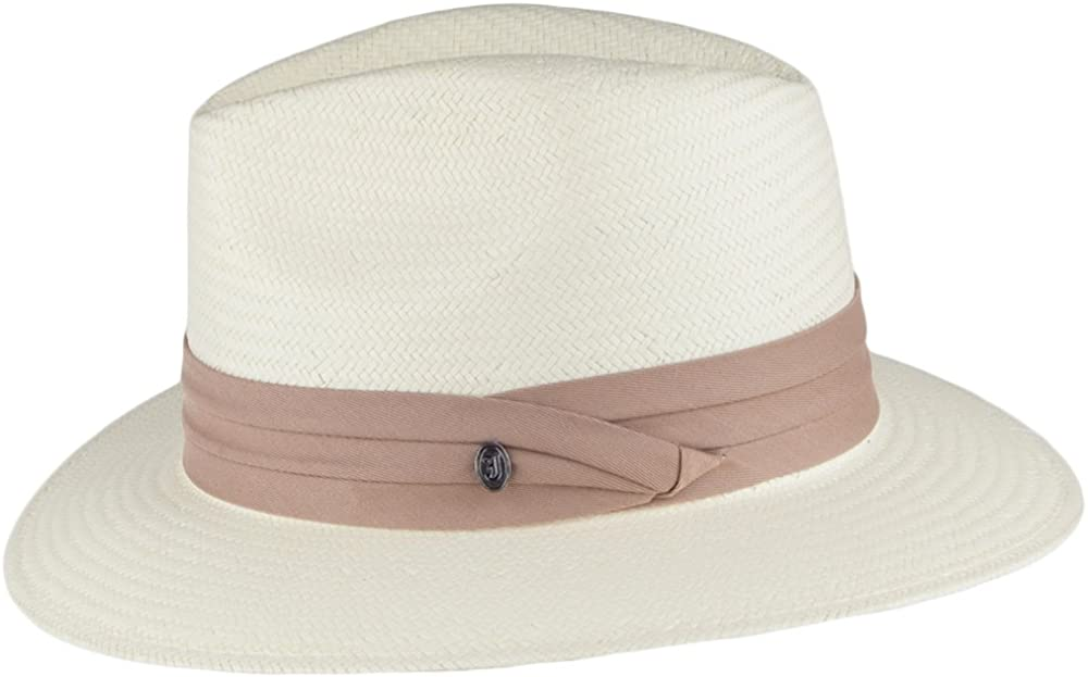 Jaxon Toyo Safari Fedora Hat Khaki Band