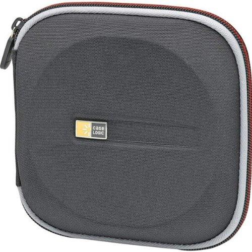 Case Logic EVW-24-BLACK Black 24 Capacity EVA Molded CD/DVD Case