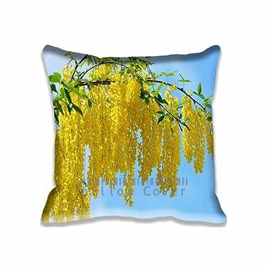 Amazon.com: Diseño personalizado flores amarillas de acacia ...