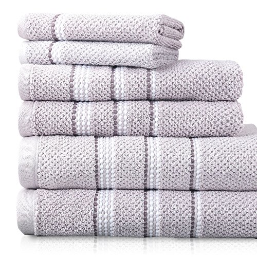 luxor-linens-tribeca-100-fine-ring-spun-rice-weave-cotton-600-gsm-luxury-dotted-towel-sets-soft-dura
