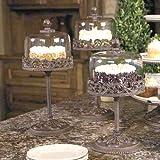 Covered Dessert Pedestals - 18in