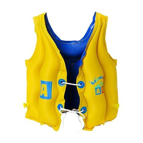 Inflable Flotador piscina playa nadar desgaste chaleco para niños 3 – 8 años de edad