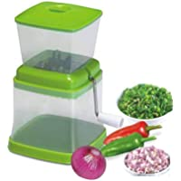 MIRAZ Plastic Onion Chopper (Green)