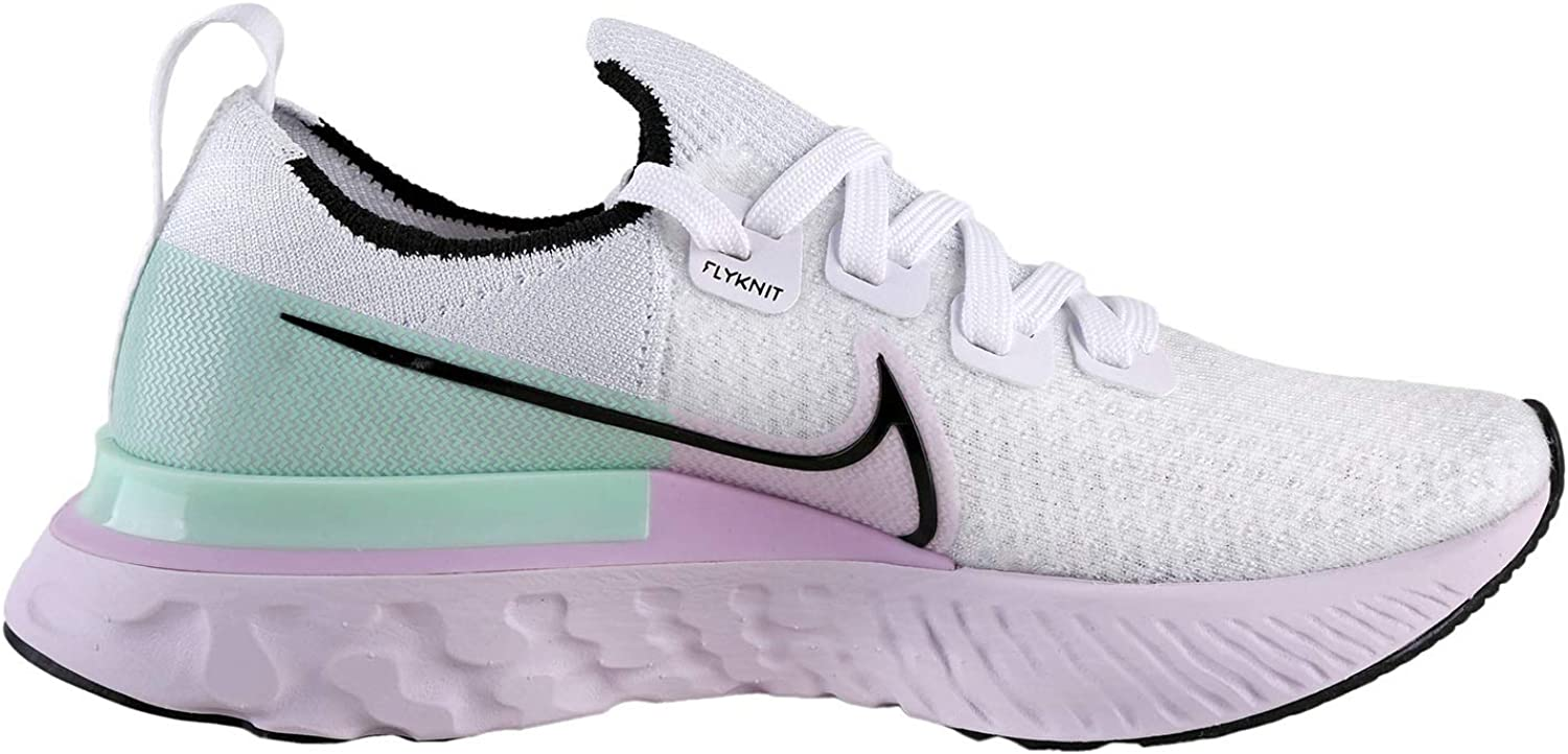 Nike Women's Running Shoes White/Black-iced Lilac-pistachio Frost