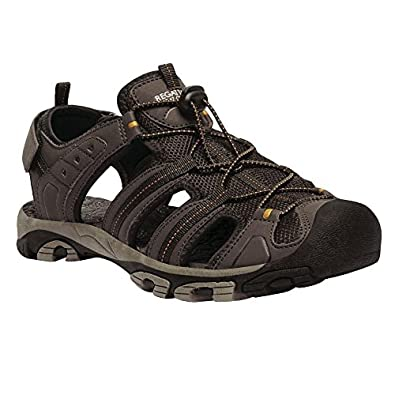 81368625 Regatta Great Outdoors Mens Westshore Lightweight Sandals (7 UK) (Peat/Old  Gold