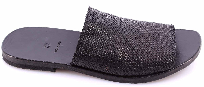 Herren Pantoletten Slippers 20701-XA Canguro Da Intreccio Leder Schwarz Neu Moma Billige Veröffentlichungstermine Ansicht Verkauf Online ldnOacnje