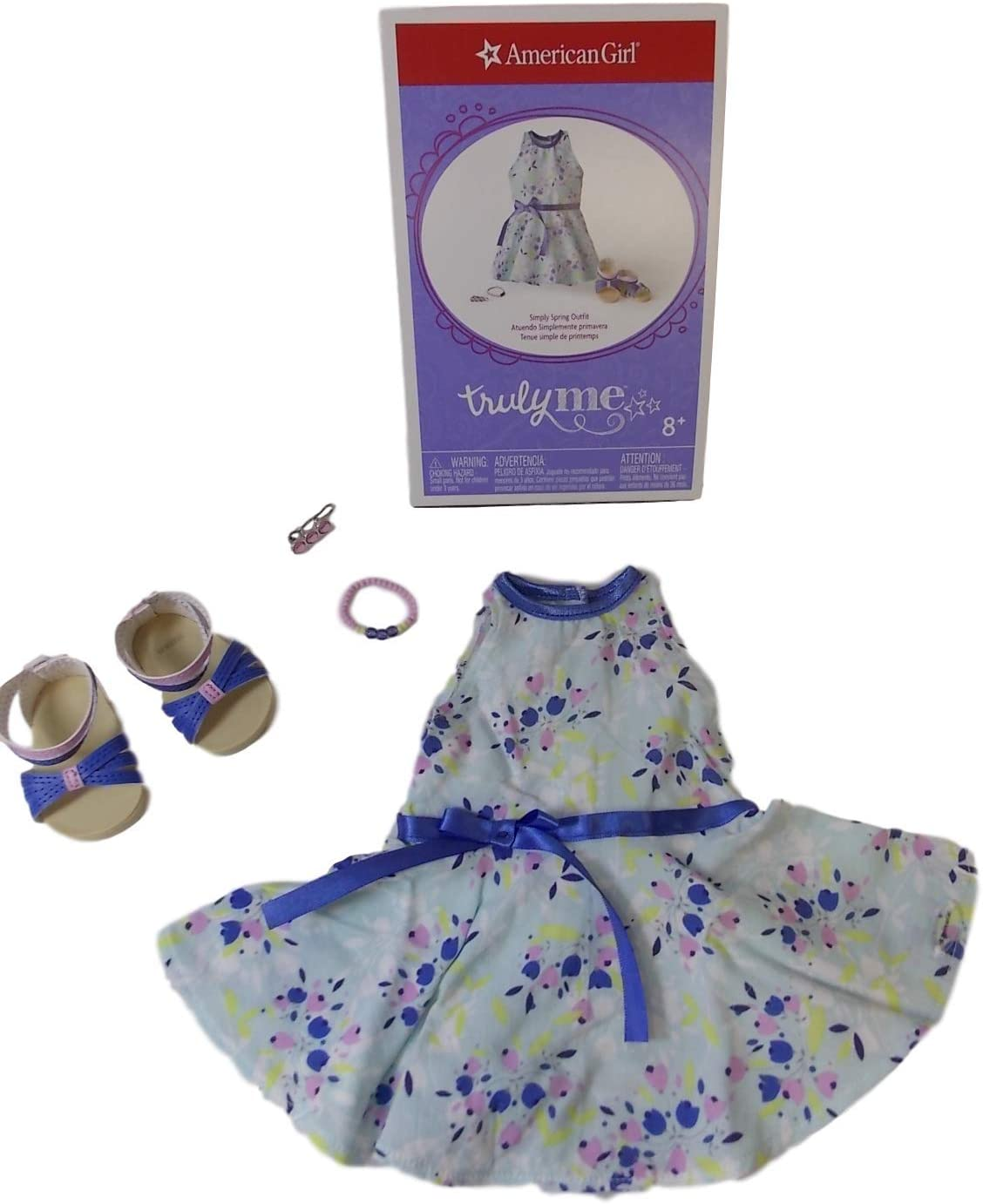 American Girl Simply spring dress outfit sandals NEW Easter