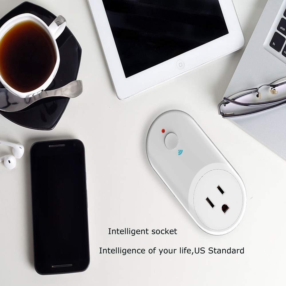 ️ Yu2d ❤️❤️ ️WiFi Intelligent Remote Control Socket Alexa/Google Home Voice Control