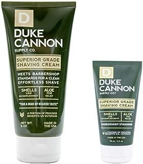 product image for Duke Cannon Supply Co. - Superior Grade Shave Cream, Smells Like Accomplishment (Combo) Superior Grade Shaving Cream for The Least Irritating Shave Ever - Bergamot and Black Pepper