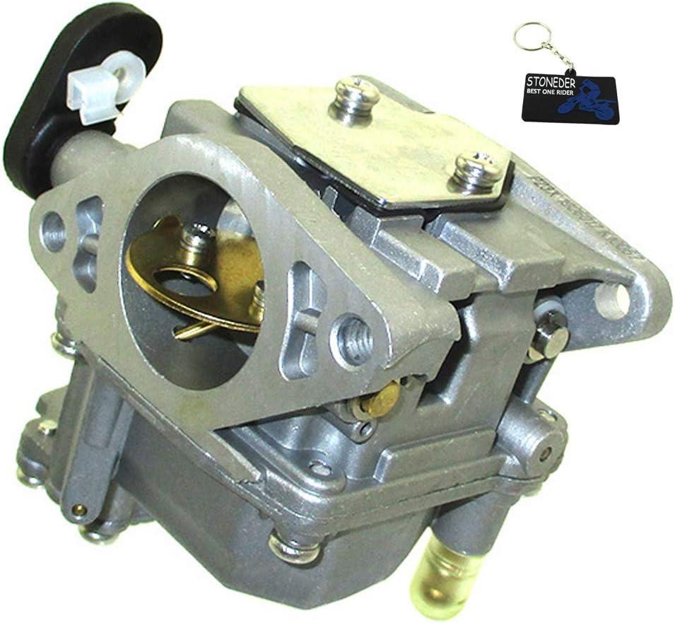 STONEDER Vergaser f/ür Yamaha 4-Takt 15HP F15 66M-14301-00 Au/ßenborder 66M-14301-11 66M-14301-12 Motor F9.9 F13.5 F15