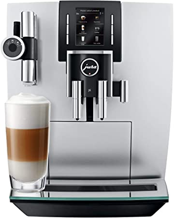 Jura 15150 J6 Coffee Machine Brilliant Silver