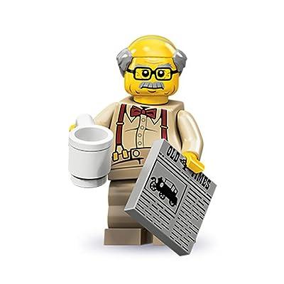LEGO Series 10 Minifigure Grandpa (71001): Toys & Games