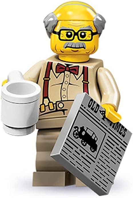 71001 LEGO Series 10 Minifigure Grandpa