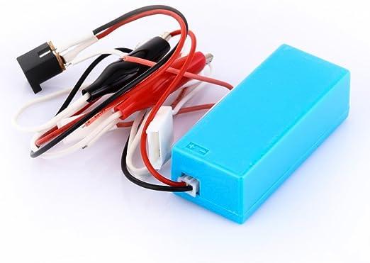 KUNSE 12V DC Entrada Ccfl Inverter Tester Ccfl Lámpara Prueba Herramienta Reparación Cable para LCD TV Laptop Pantalla Contraluz Reparación: Amazon.es: Hogar