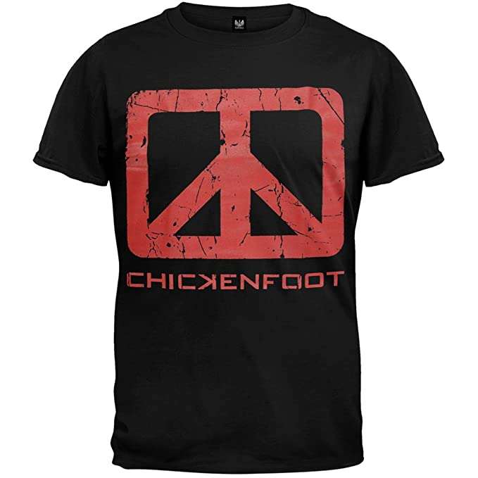 1fbbef25efb Image Unavailable. Image not available for. Color  Chickenfoot - Mens Down  The Drain T-shirt Medium Black