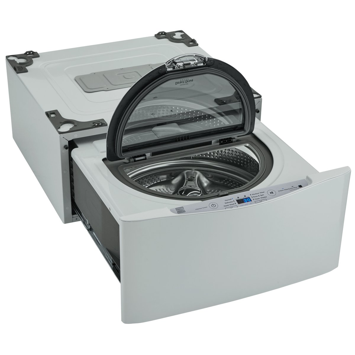 Kenmore Elite 51972 27'' Wide Pedestal Washer in White, includes delivery and hookup