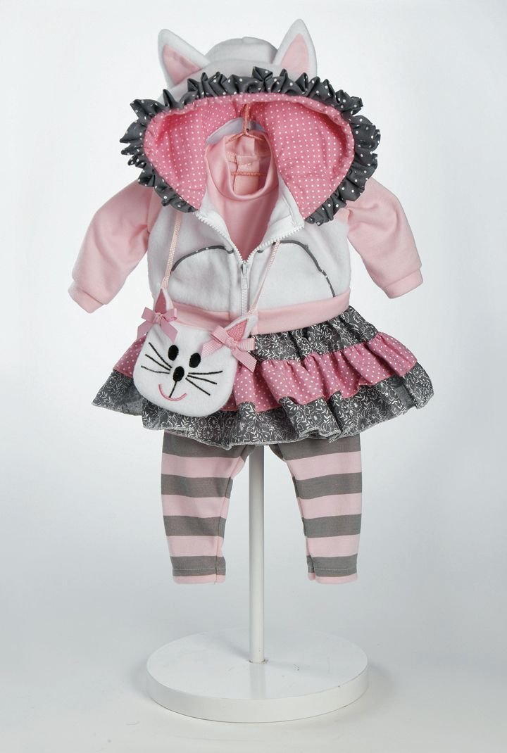 Adora 20920924 - Cat's Meow Outfit, Puppenzubehör