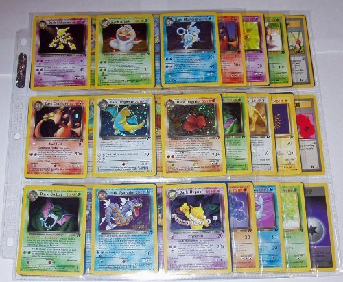 Pokemon COMPLETE TEAM ROCKET SET 83/82 CARDS Holos Charizard Blastoise Dark Raichu+