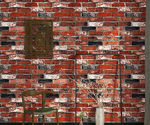 Brick Wallpaper Ladrillo Vintage Bar Fake Brick 3d Wallpaper