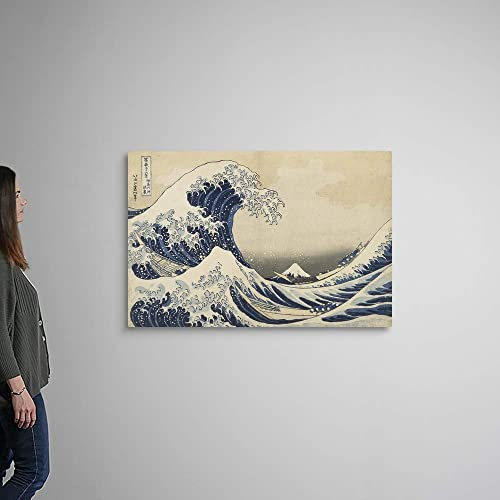 The Great Wave of Kanagawa Canvas Wall Art Print