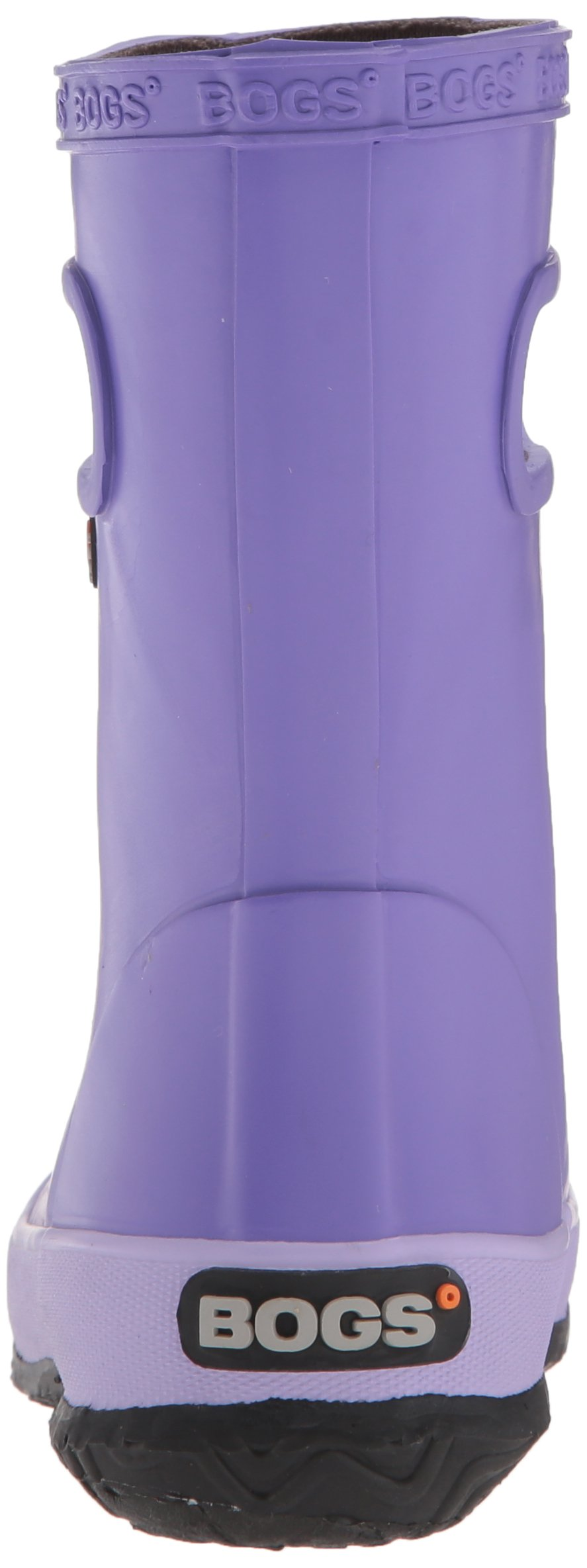 Bogs Kids' Skipper Waterproof Rubber Rain Boot for Boys and Girls,Solid Violet,11 M US Little Kid by Bogs (Image #2)
