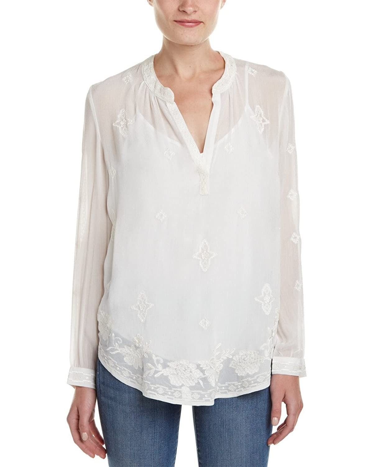Velvet by Graham & Spencer Women's Emmaline Long Sleeve Blouse