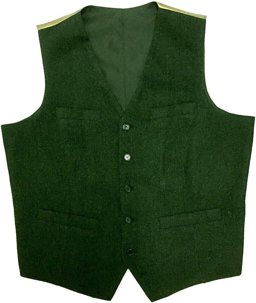 Mens green vintage vests movement reinvestment scale