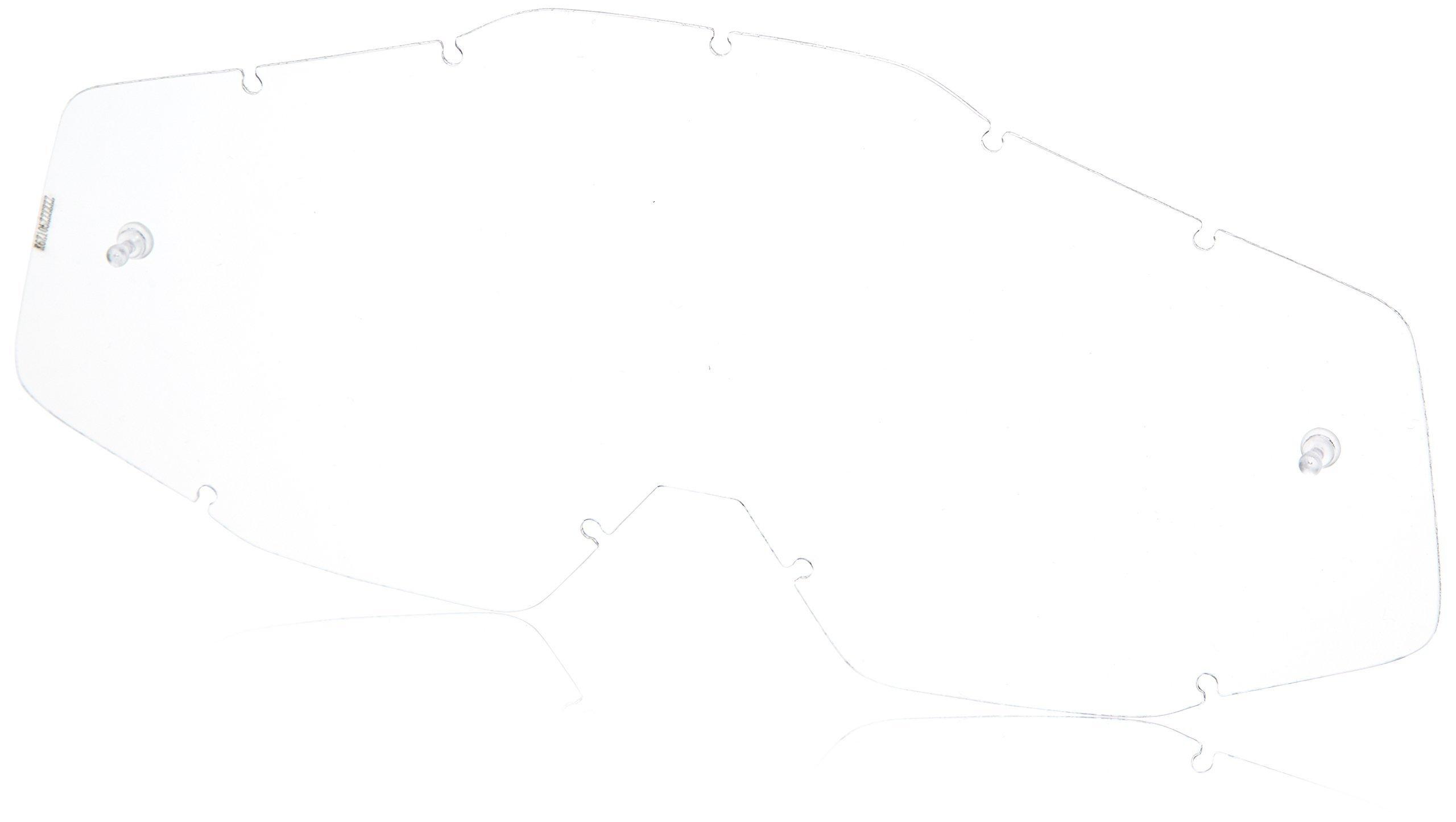 100% 50110-002-02 unisex-adult Goggle (Cobalt/Mirror Blue,One Size) (RACECRAFT RC COB BlueE Mirror Lens Blue)