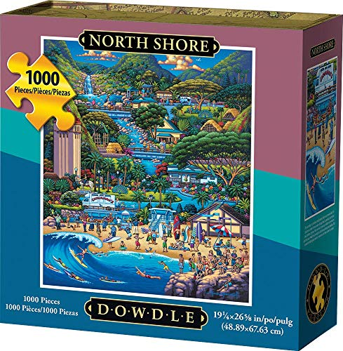 Dowdle Jigsaw Puzzle - North Shore - 1000 Piece (Best Of North Shore)