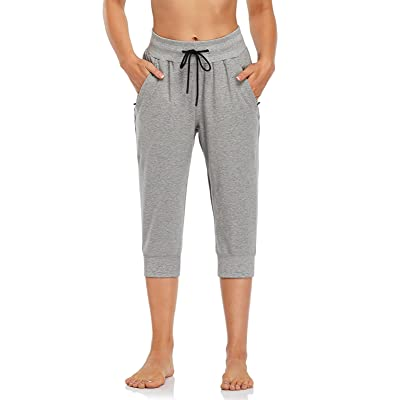 SEVEGO Womens Soft Yoga Jogger Pants with Pockets High Waist Workout Running Sweatpants Lounge Bottoms
