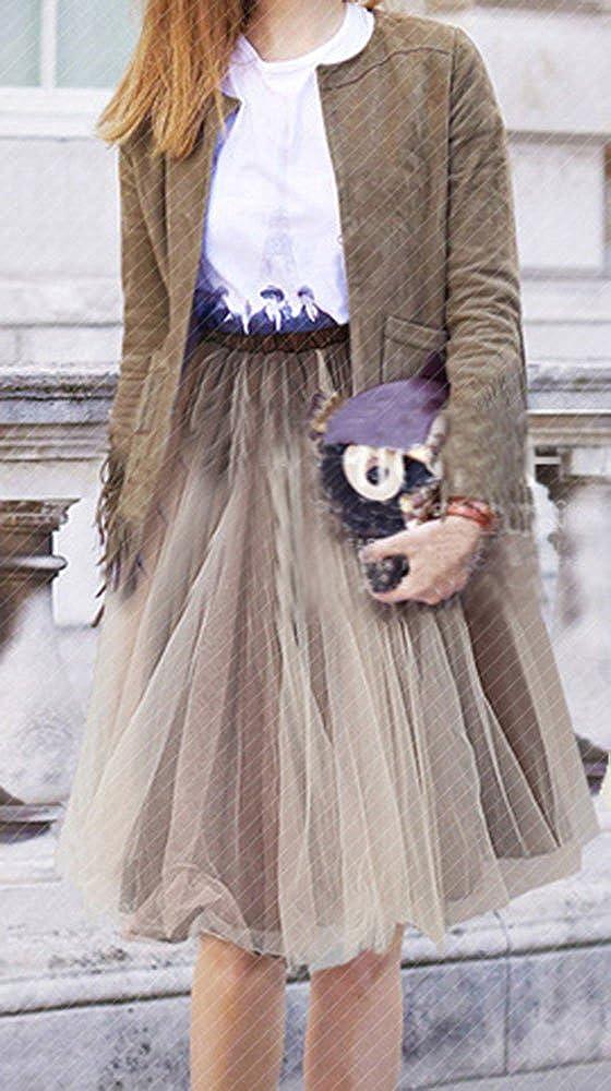 Bestfort Damen Hepburn Kleid Knielange 2018 Hohe Taille Sch/öne Kleider Frauen Rock Mode A Linien Rock Bowknot Faltenrock R/öcke Sommerr/öcke