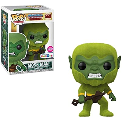 Funko Pop! Animation: Masters Of The Universe | Moss Man (Toys R Us) Exclusive Flocked Vinyl Figure # 568: Toys & Games