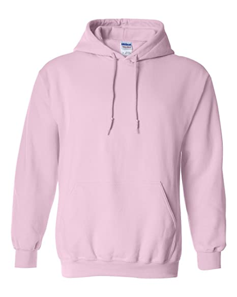 e55b0447 Hooded Pullover Sweat Shirt Heavy Blend 50/50 - Light Pink 18500B S