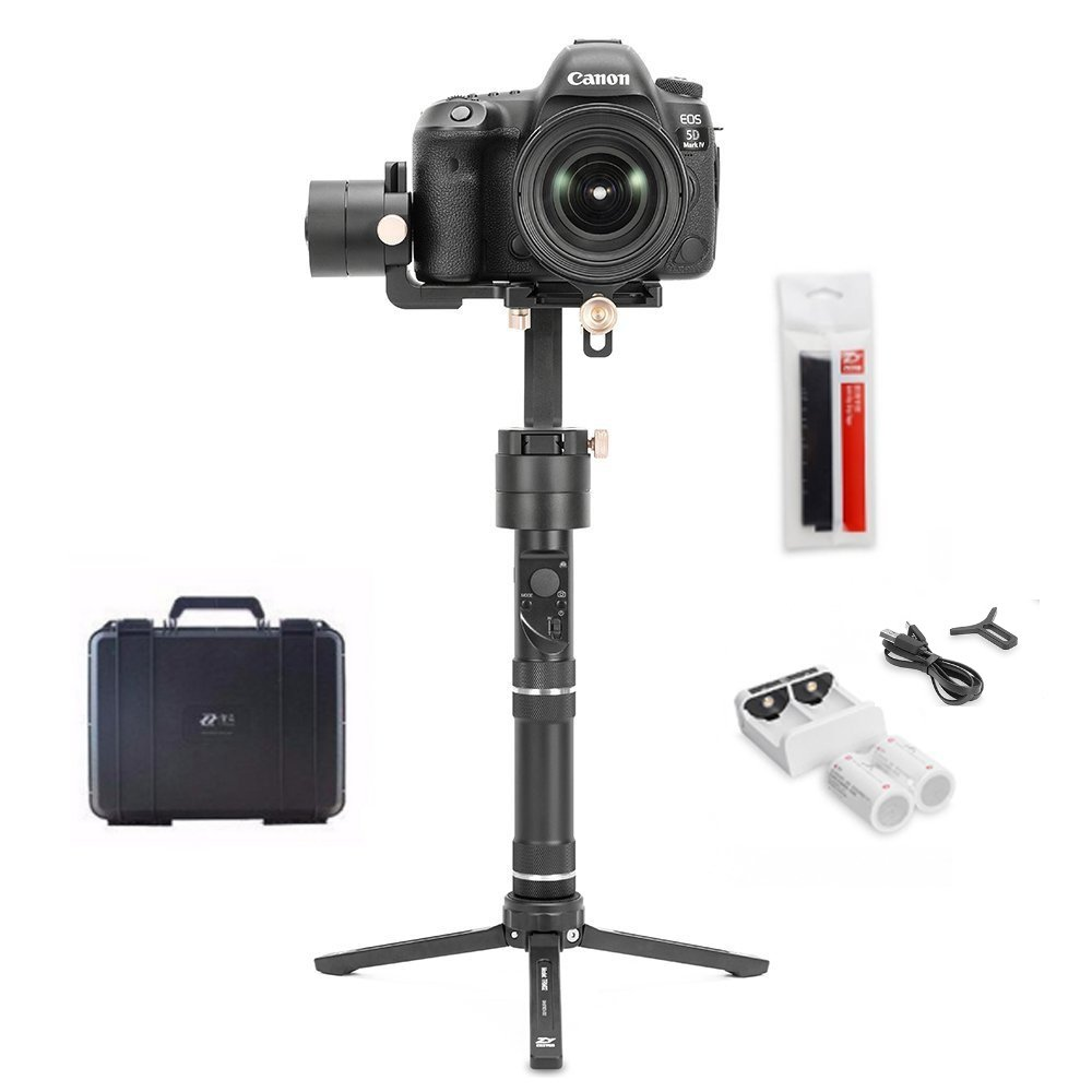 Zhiyun Crane Plus Zhiyun Crane V2 Upgrade Version 3 Axis Handheld Gimbal Stabilizer 2.5KG (5.5lbs) Playload with Timelapse MotionMemory Intelligent Object Tracking for Canon Nikon Sony DSLR Cameras by zhi yun