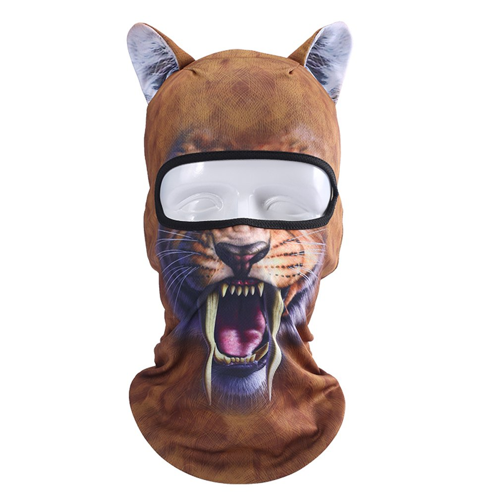 lilyy Animal Ears Balaclava Face Mask Neck Hood Outdoor Sports Cap Motorcycle Cycling Ski Balaclavas