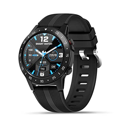 Anmino Smart Watch (GPS +Barometer+Altimeter+Compass),Full HD Touchscreen,All-Day Heart Rate and Activity Fitness Tracker,Pedometer,Calorie ...