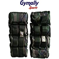 Gymally Sports Men's & Women's Polyester Wrist & Ankle Weight Wraps 500 Gm / 1 Pair
