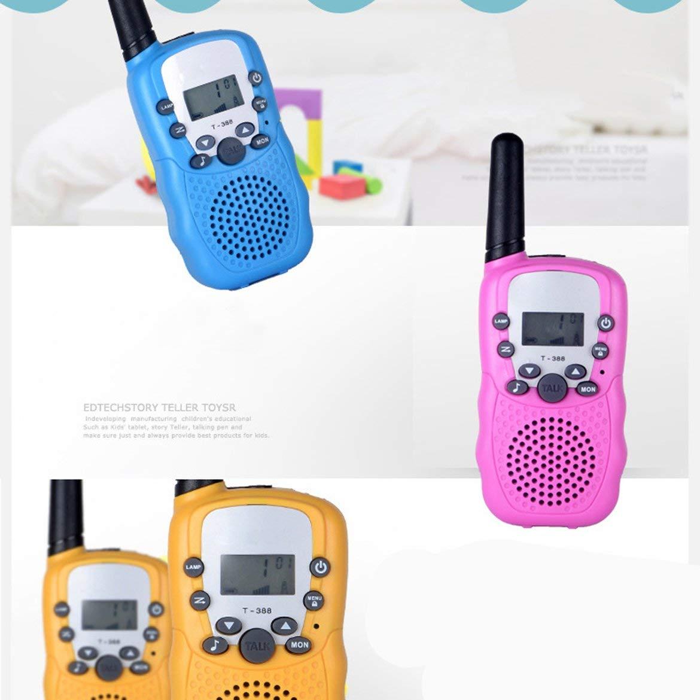 Gris Pack t-338 Mini Enfants en Plein air interphones Portable Aventure Radio /émetteur-r/écepteur Portable talkies-Walkies pour Enfants JohnJohnsen 2pcs
