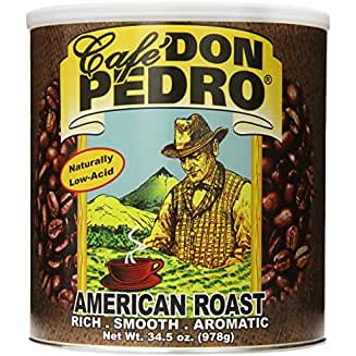 Café Don Pedro American Roast (our Best Low Acid Coffee)