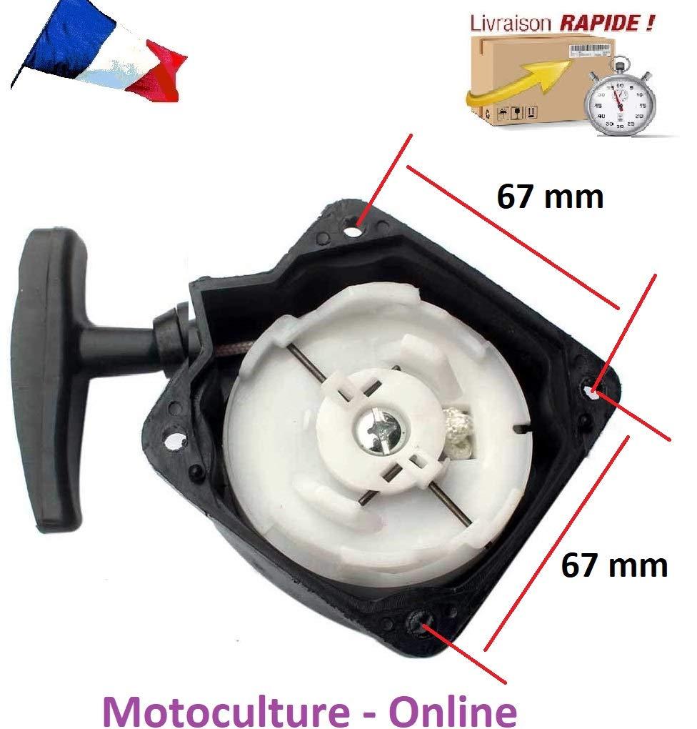 Motoculture-Online Arranque/arrancador para desbrozadora, Barreno ...