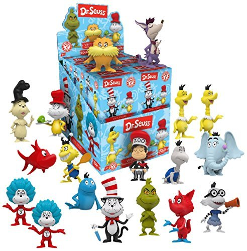 (Display Case of 12: Funko Dr. Seuss Mystery Mini Toy Figure )