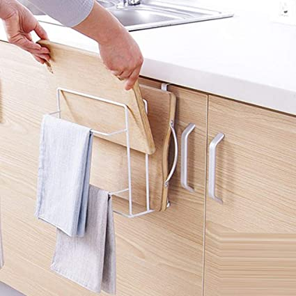 Amazon Com Figed Kitchen Cabinet Wall Hanging Cutting Board Frame