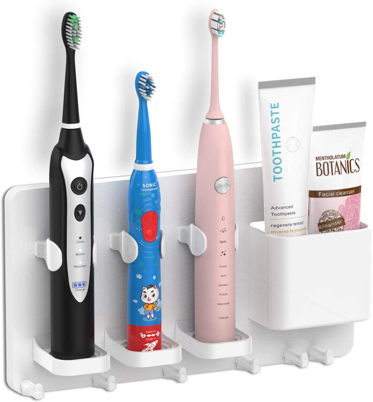 Electric Toothbrush Holder Stand Base Stander Support Flat Packed