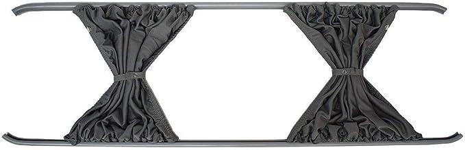 Cortinas gris a medida LH puerta corredera y RH Panel lateral Camper Van Kit para Fiat Ducato (2006 en adelante): Amazon.es: Coche y moto