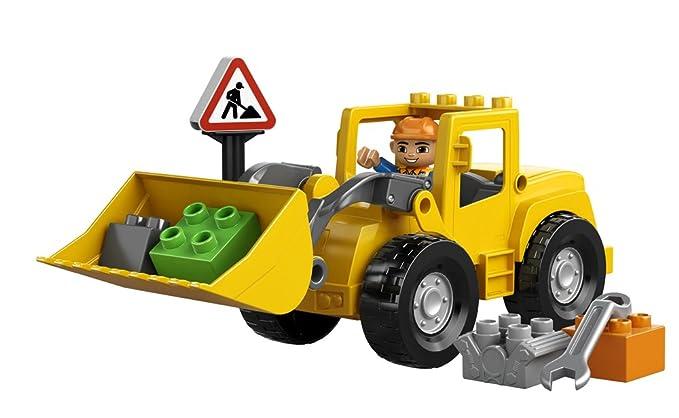LEGO DUPLO 10520 - En la Ciudad: Excavadora: Amazon.es: Juguetes y juegos