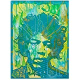 Trademark Fine Art Jimi Hendrix V by Dean Russo, 18x24-Inch