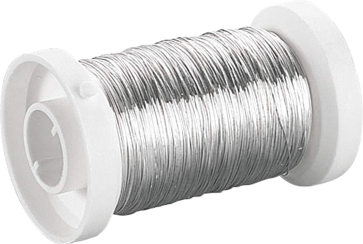 Knorr Prandell Wire Silver-Plated 0,6mmx15m