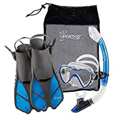 Just in time for snorkeling season, an exclusive, complete, color-coordinated, high-end snorkeling set from Seavenger -- all for an amazing low-end price. You'd expect to pay as much for any one of these great snorkel items as you are for the...