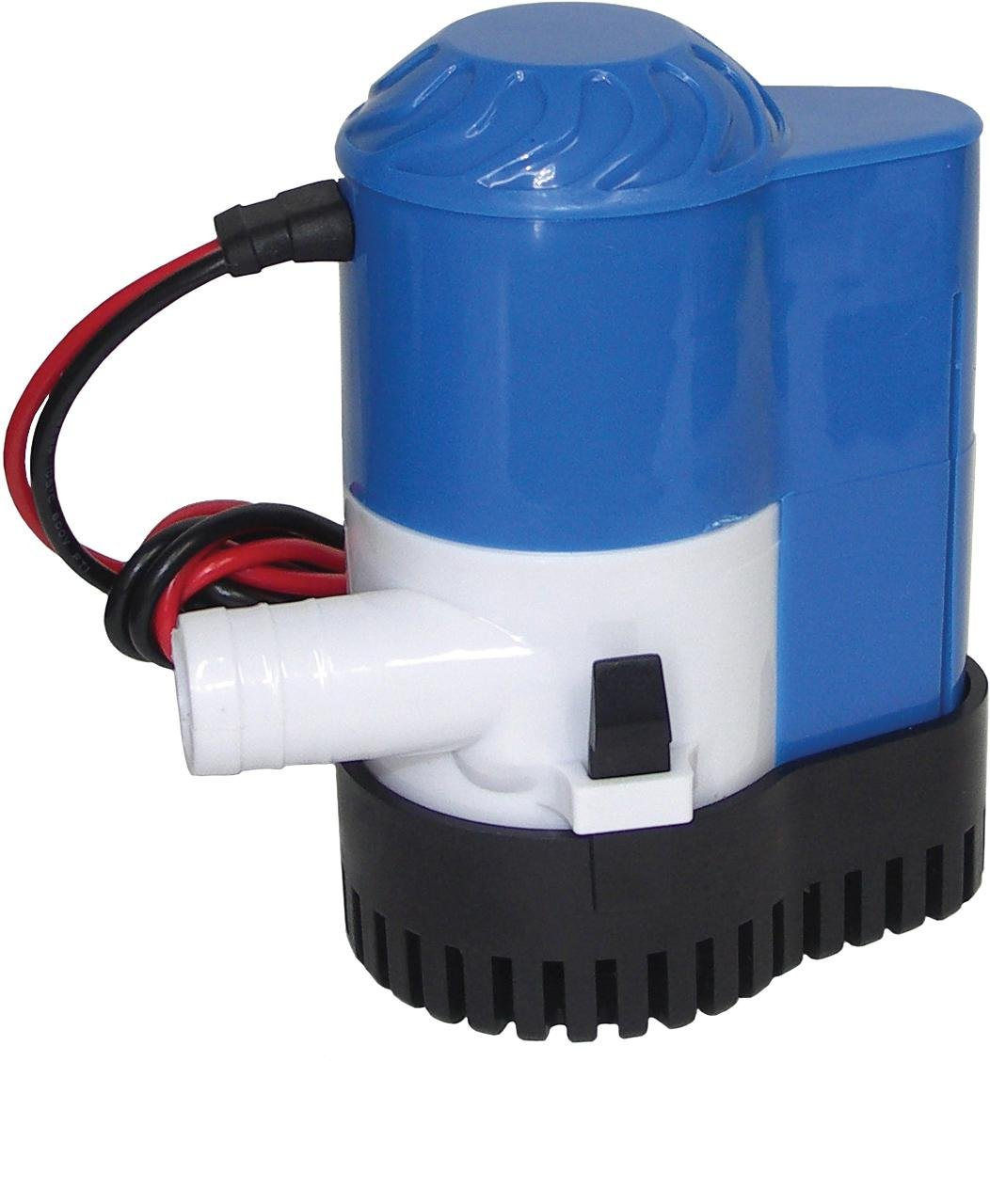 Shoreline Marine 800 GPH Bilge Pump with Auto Switch South Bend SS-SMS-4012038 A-052260