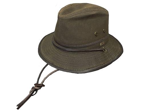 b75757a6896 Conner Hats Men s Mountain Trail Wax Cotton Hat at Amazon Men s ...